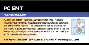 PC EMT Ad for Repair