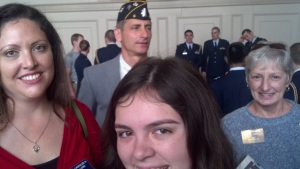 Veterans Day at UNC 2012